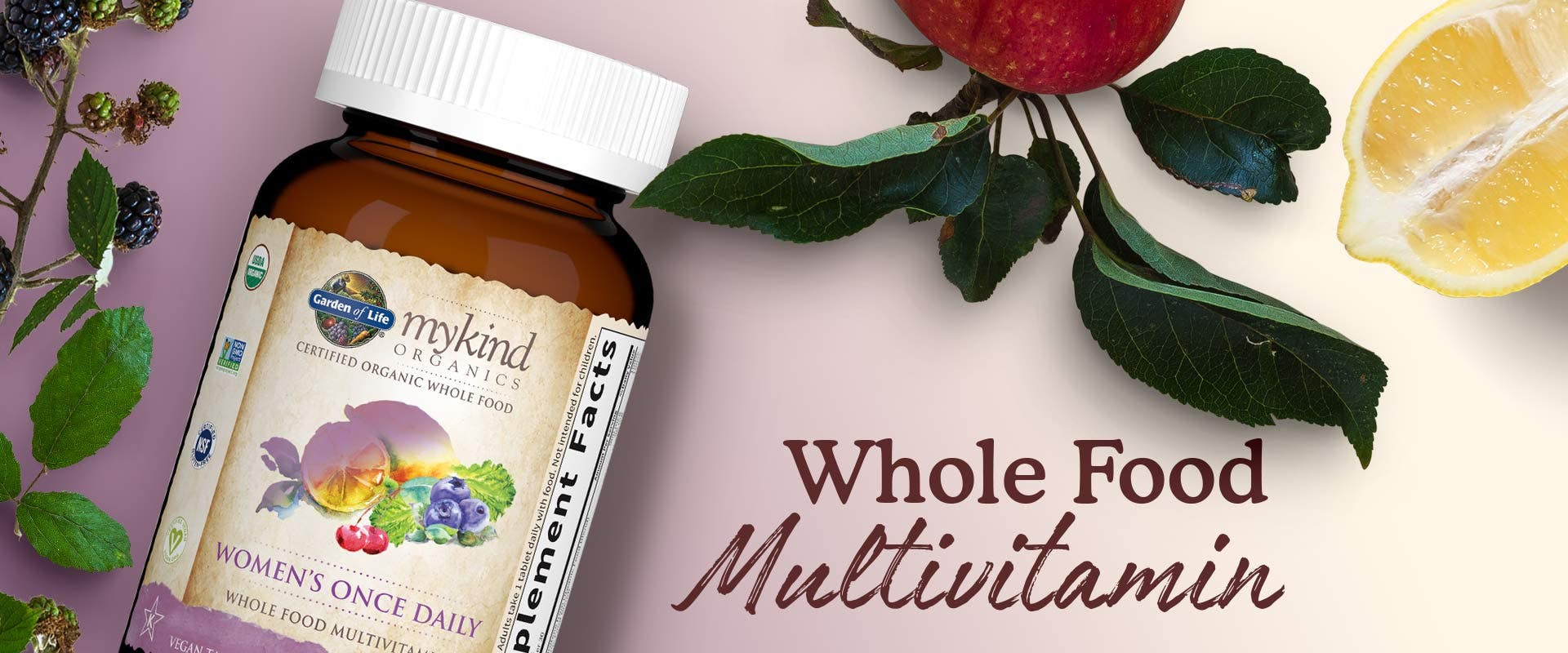 mykind Organics Women's Once Daily Tablets