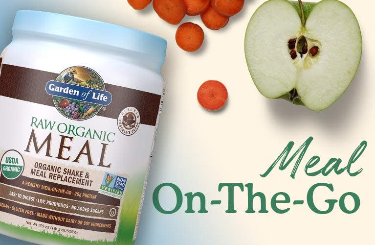 Raw Organic Meal Replacement on the go by Garden of Life