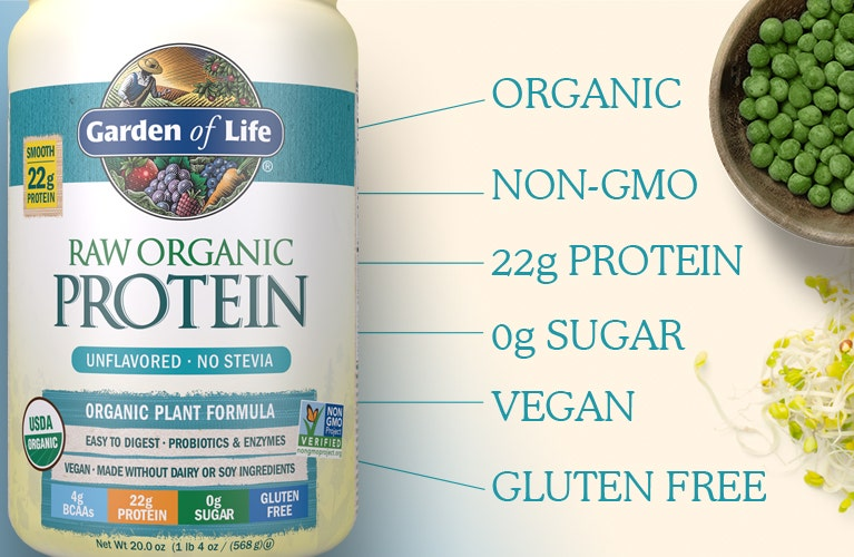 Raw Organic Protein Powder