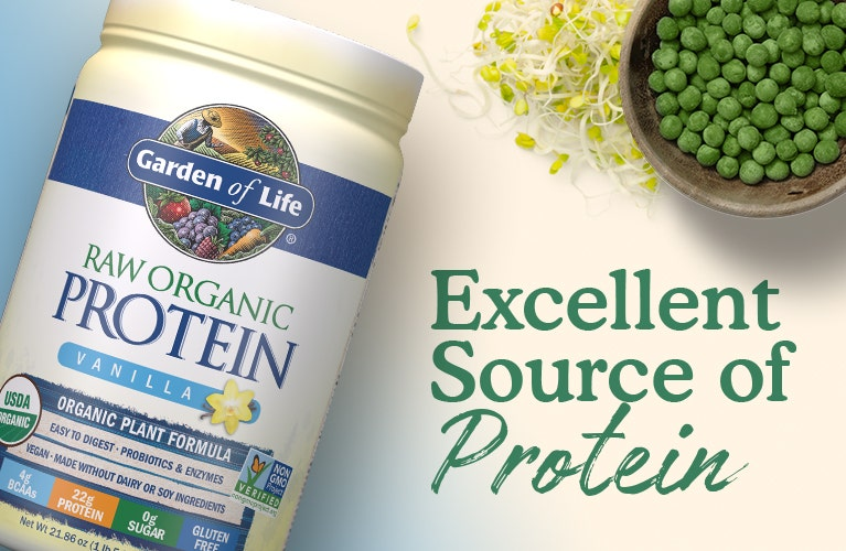 Raw Organic Protein Powder