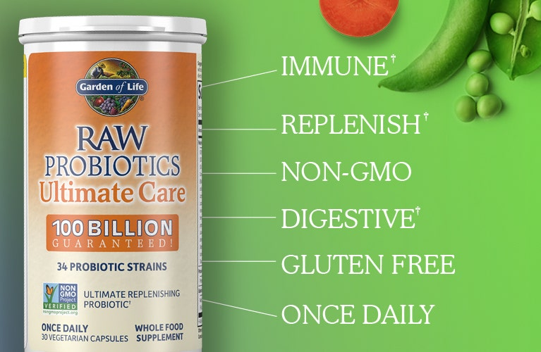 raw probiotics by Garden of Life