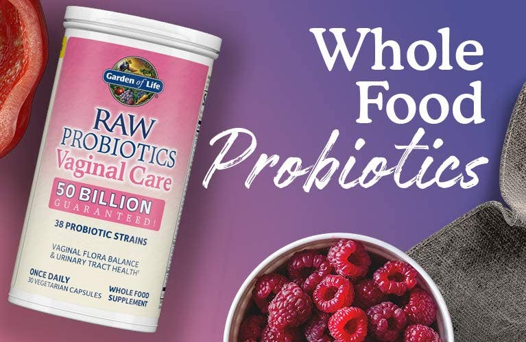 Raw Probiotics Vaginal Care by garden of life