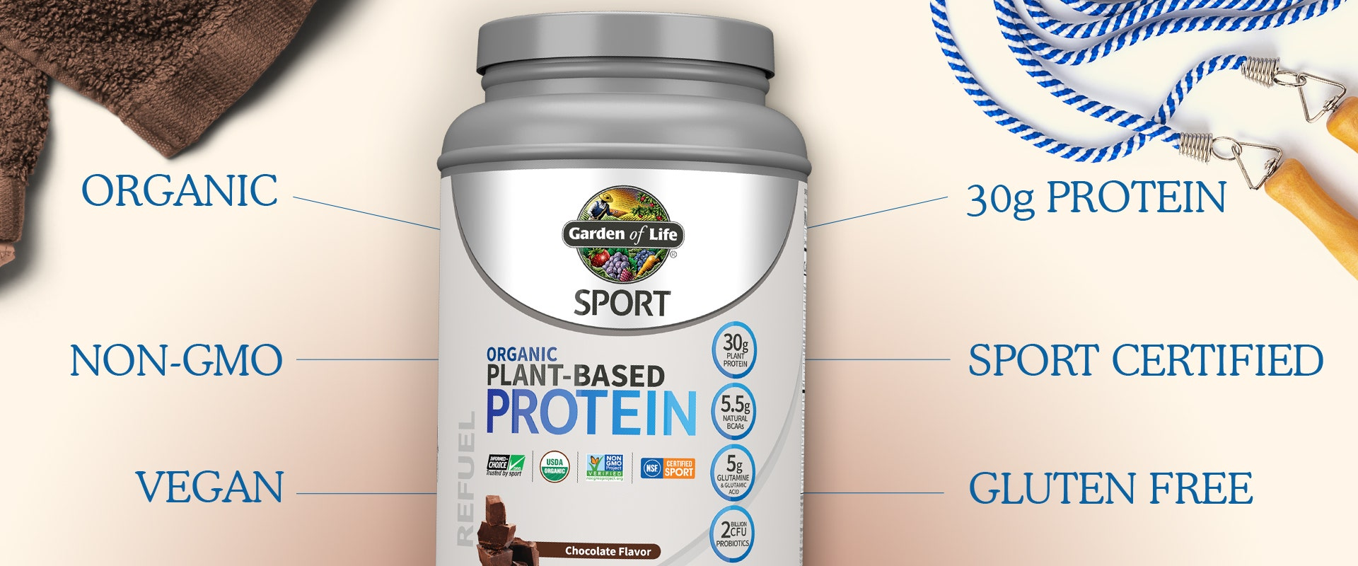 Sport Plant Based Protein Powder