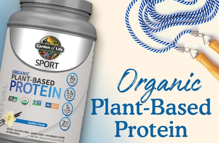 SPORT Organic Plant-Based Protein Vanilla