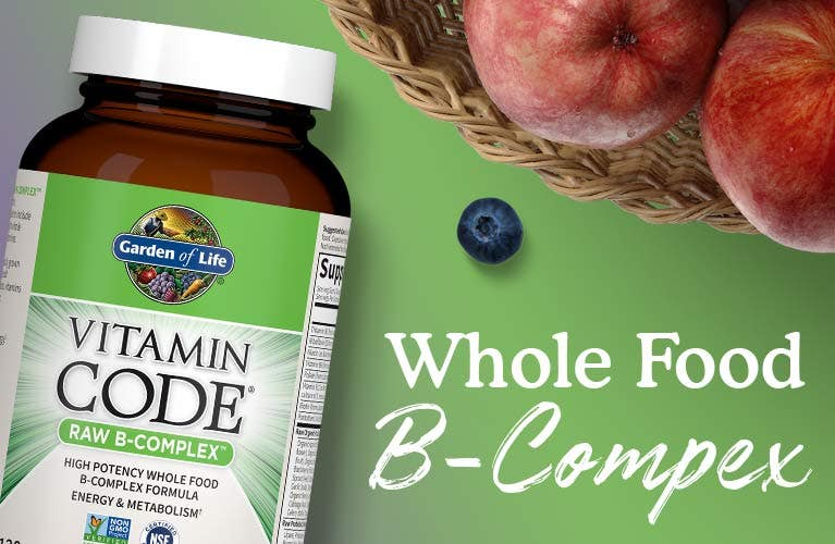 B-Complex Vitamin Code Raw Capsules