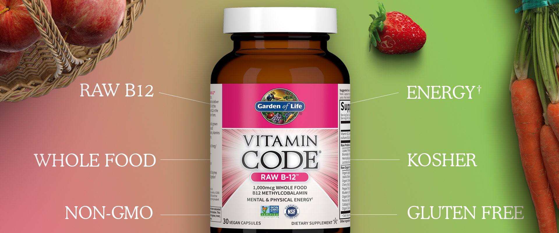 Vitamin D 5,000 IU by Garden of Life Vitamin Code
