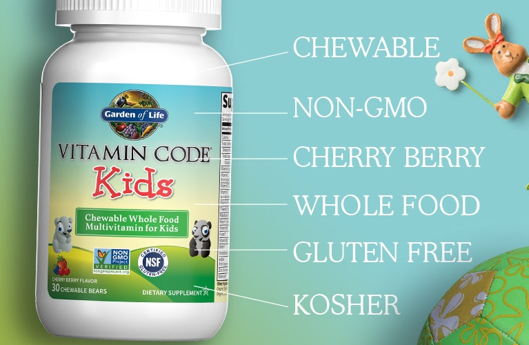 Vitamin Code Kids Cherry Berry Chewables