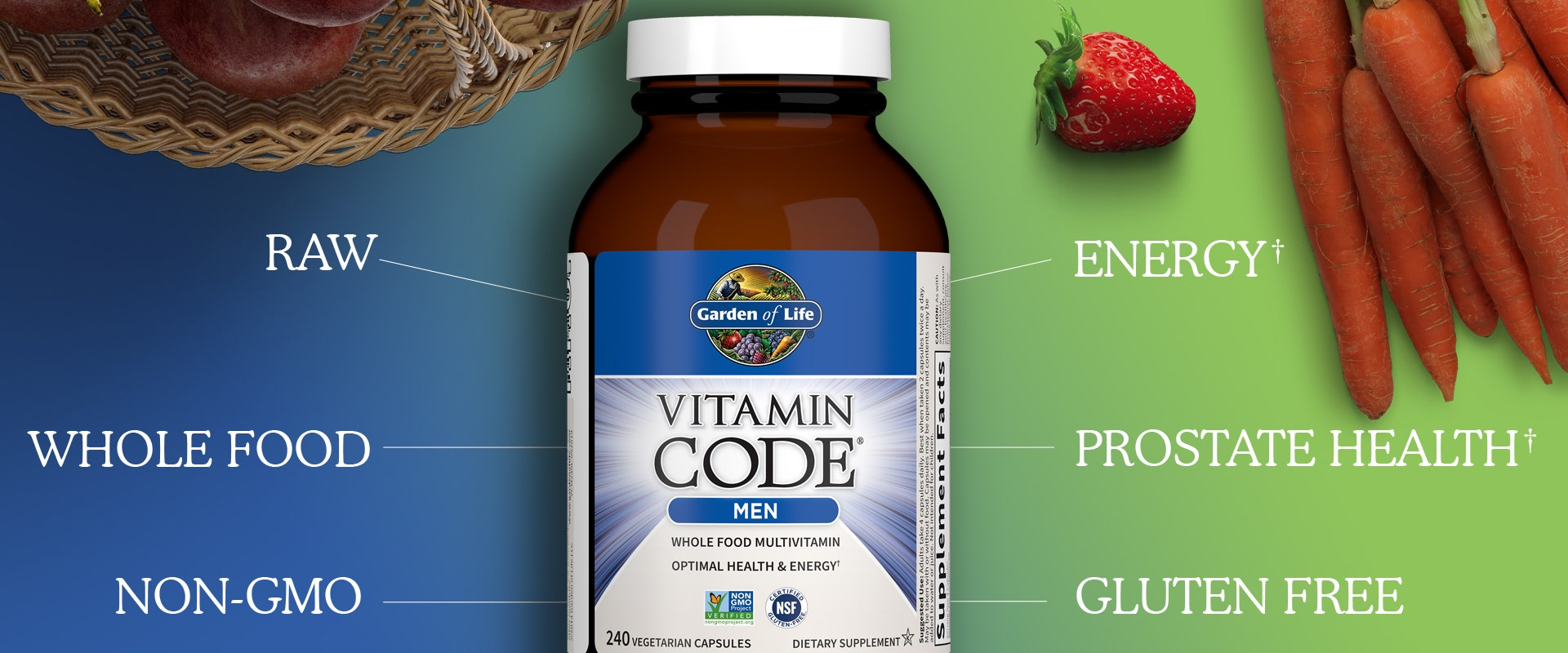Mens multi vitamin by Garden of Life Vitamin Code