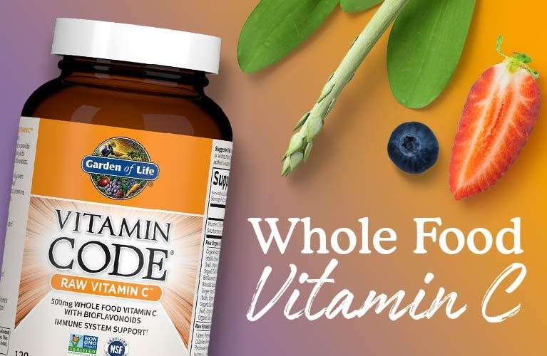 Vitamin C Vitamin Code Raw Garden of Life