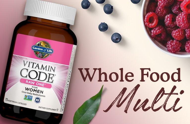 Women Multi Vitamin Code Garden of Life Raw