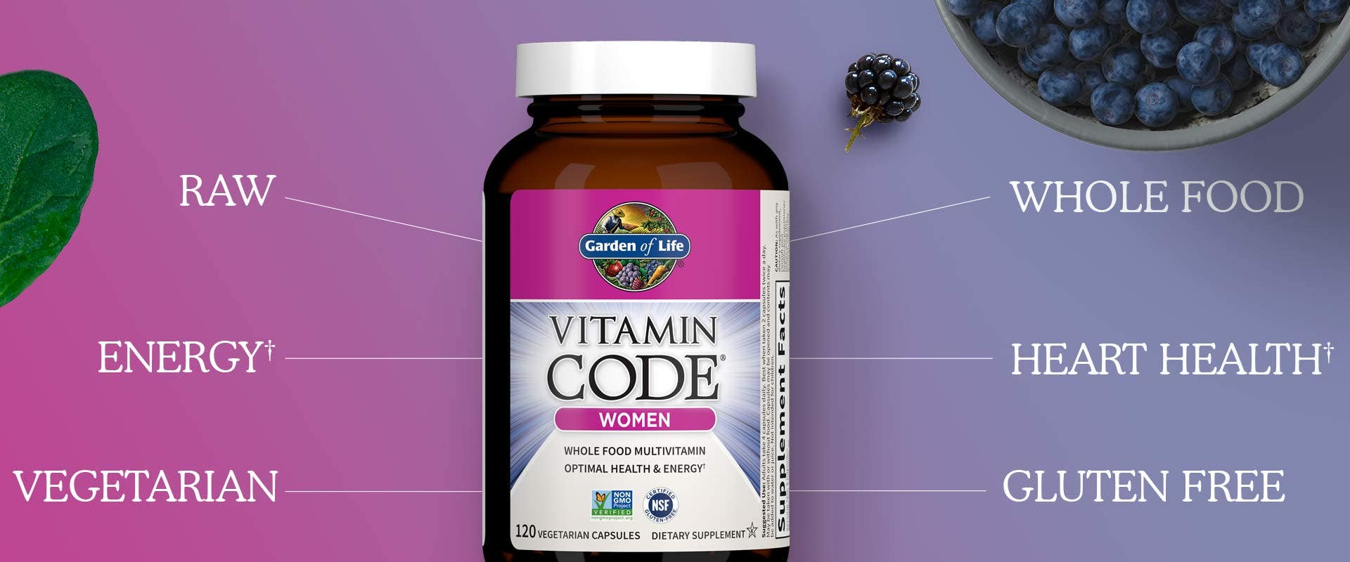 Vitamin Code Women Capsules
