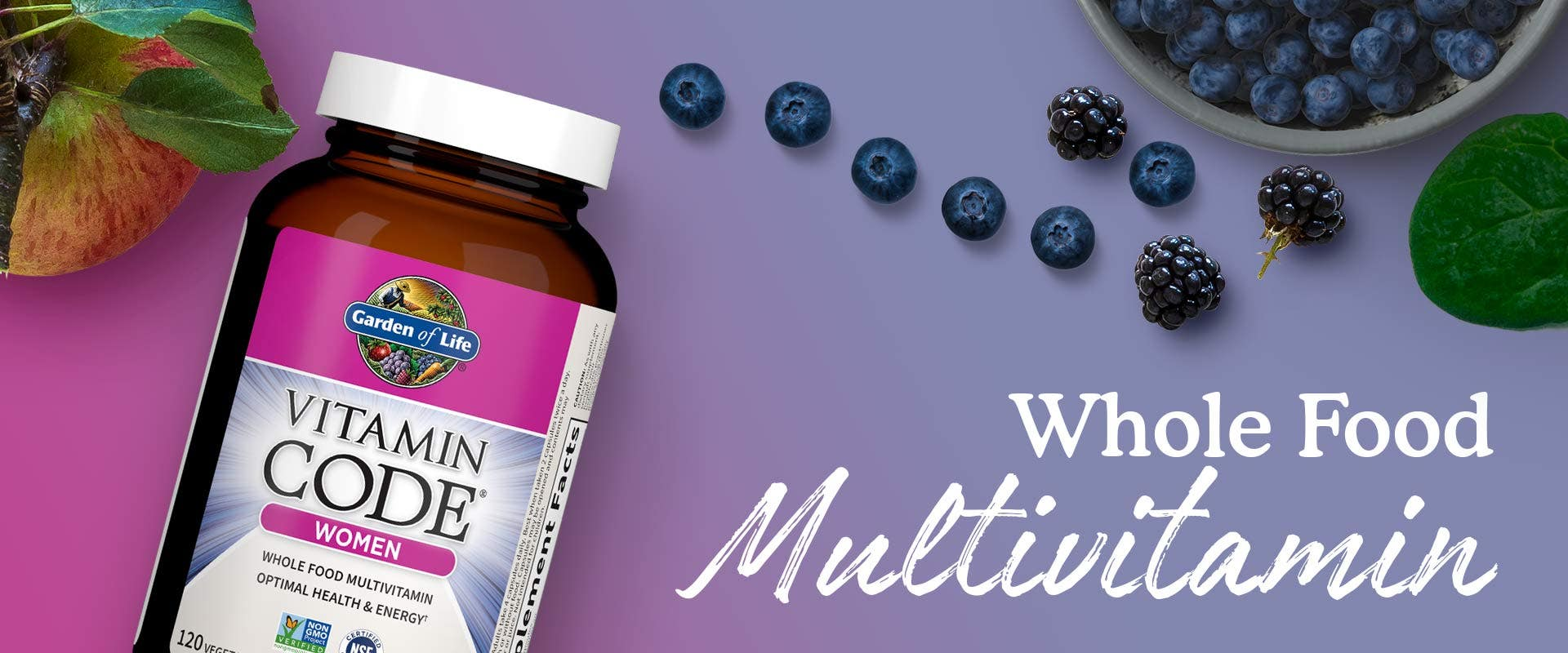 Women's Multivitamin Vitamin Code Garden of Life